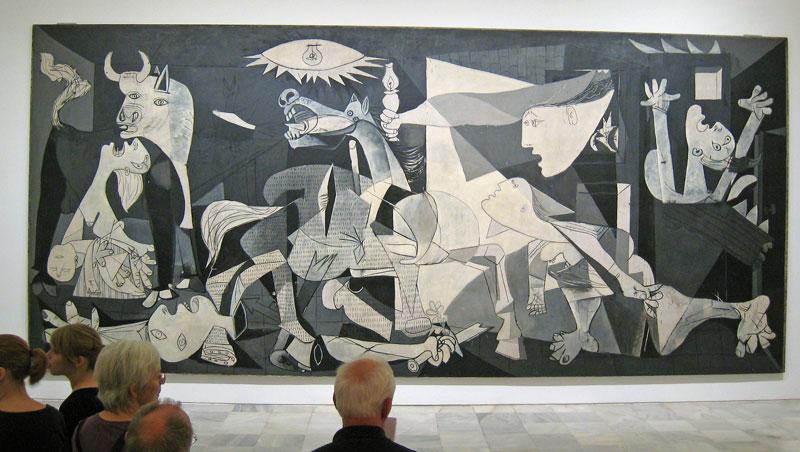 Guernica van Pablo Picasso - Museum Reina Sofia in Madrid