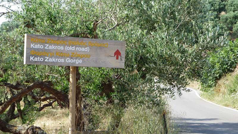 Wandeling Dodenvallei Kreta Kato Zakros