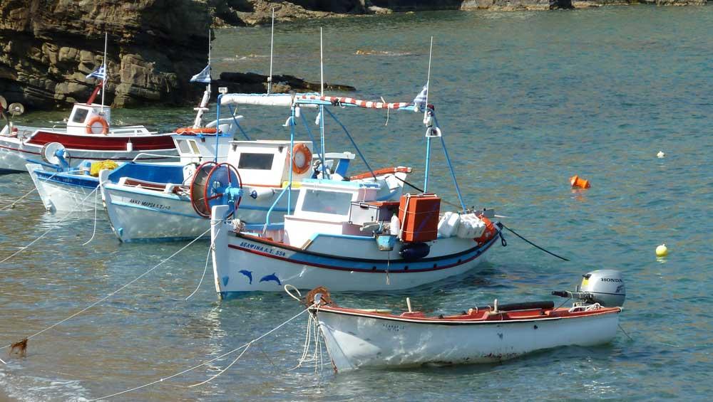 Kato Zakros - Kreta - Vissersboten