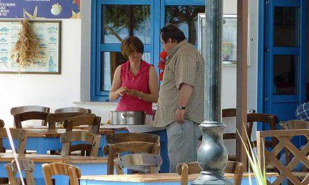 Eten en luieren in Mohlos