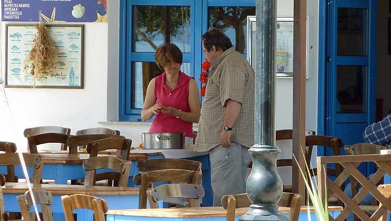 Restaurant Kavouria - Mohlos - Kreta