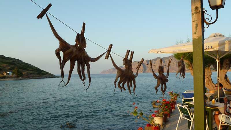 Zonsondergang Mohlos - Kreta