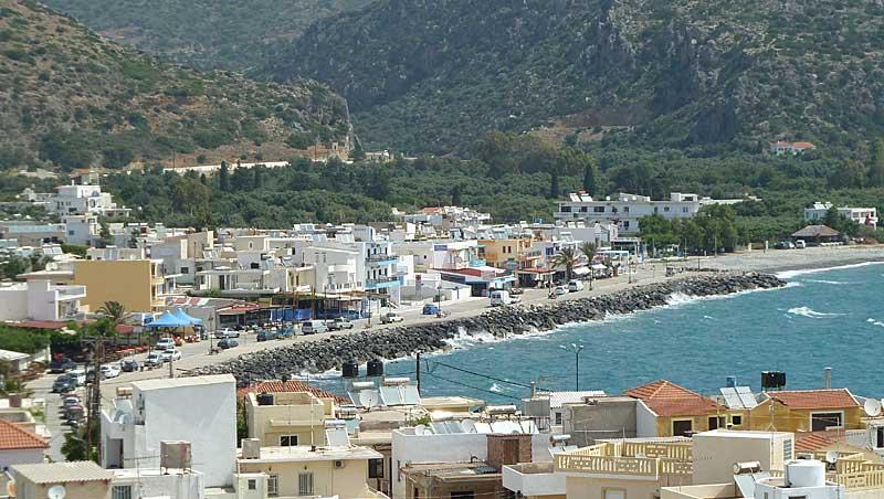 Paleochora op Kreta