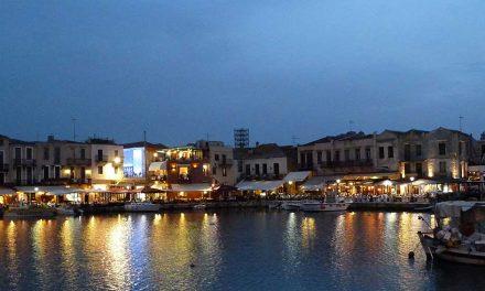 De smalle straatjes van Rethymnon
