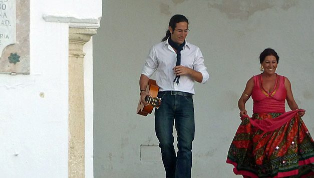 Flamenco en smalle straatjes in Arcos de la Frontera