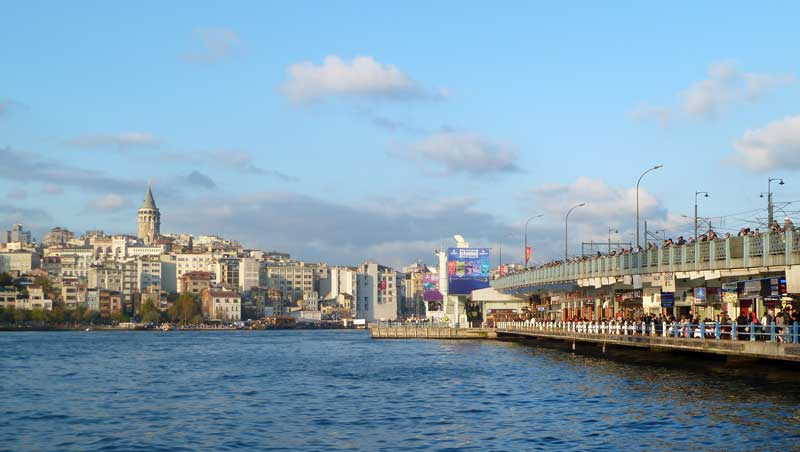 Galatabrug Galatatoren Istanbul
