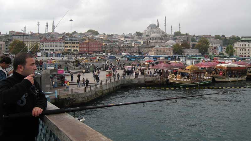 Galatabrug in Istanbul