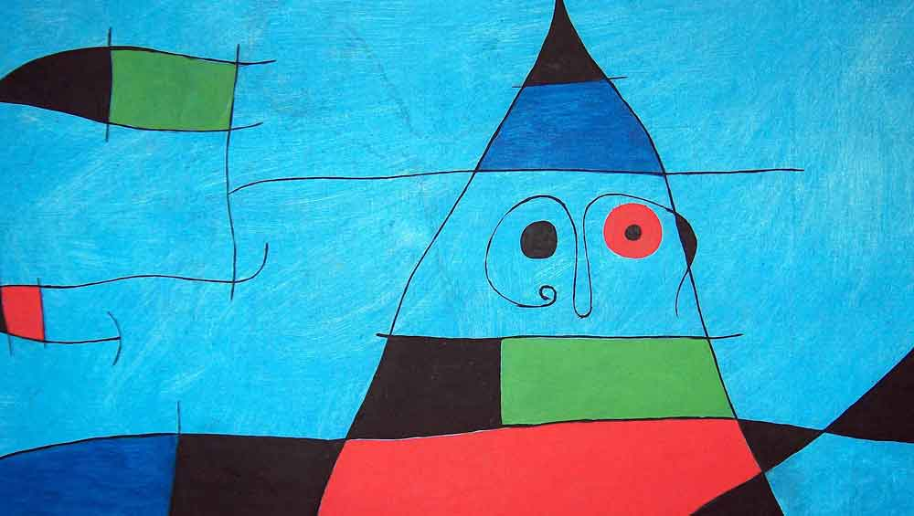 Ontmoet Joan Miró in Barcelona