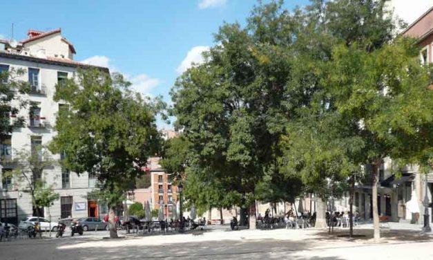 Plaza de la Paja oase van rust in Madrid