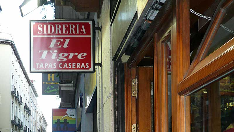 Een bord vol tapas in Madrid
