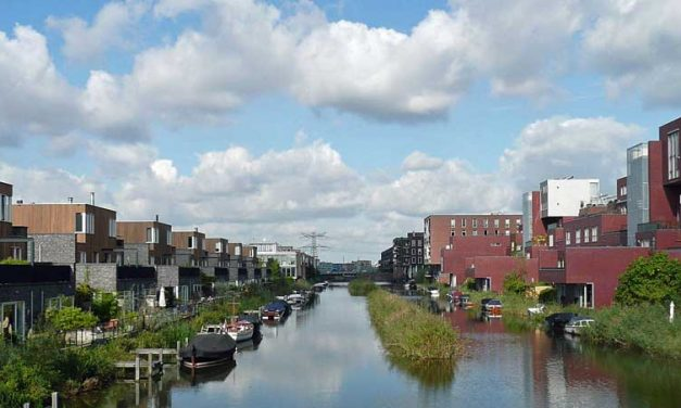 Van fris blauw naar zeegroen op Amsterdam IJburg
