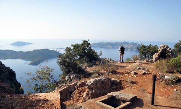 Wandelen langs baaien, bergflanken en bijenkasten in Turkije
