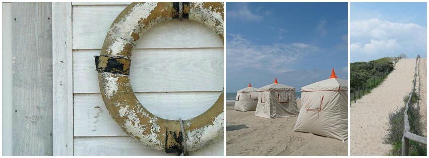 Hippe strandhuisjes duinwandeling Noordwijk aan Zee