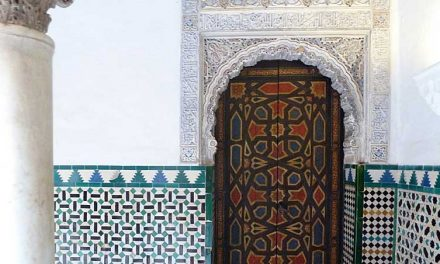 Mix van stijlen in Reales Alcázares in Sevilla