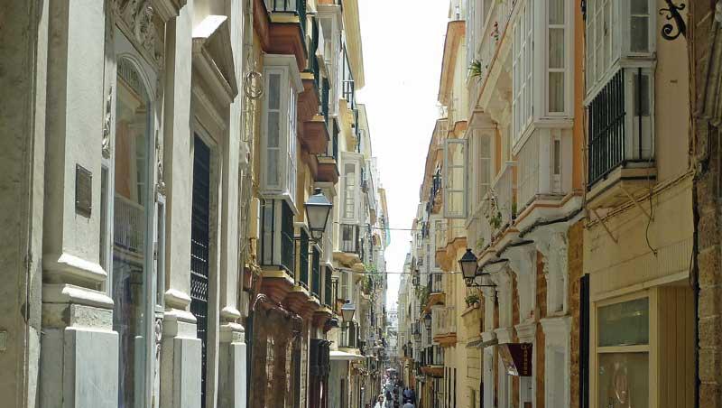 De erkertjes in Cádiz, een stadswandeling