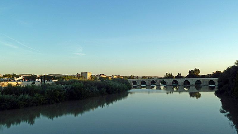 Romeinse brug (Puente Romano) in Córdoba