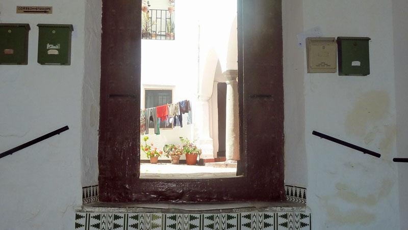 Verborgen patio's - Tarifa - Andalusië