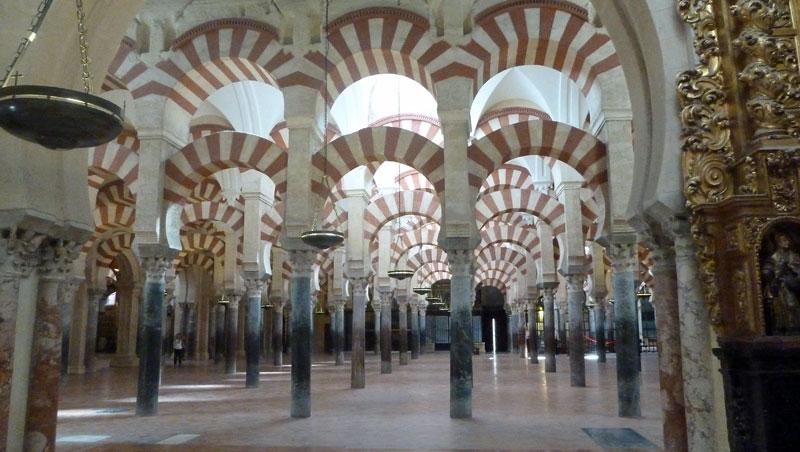 Zuilen Mezquita in Córdoba