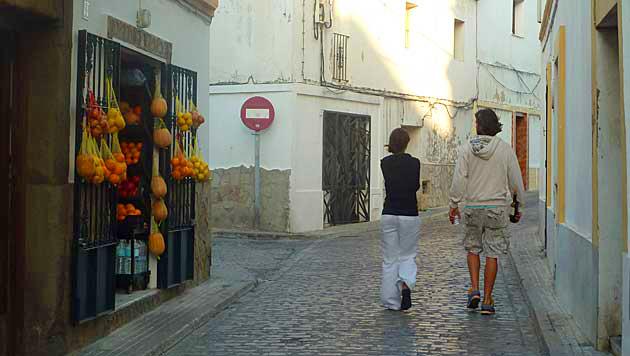 Smalle straten van Tarifa