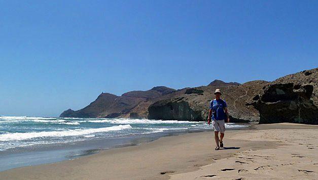 Playa de Monsul, net als in de film