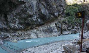 Rivier Marsyangdi in Nepal