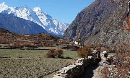 Trekking Manaslu Circuit en Tsum Valley in Nepal