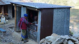 Naaiatelier in Dhampus - Nepal