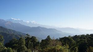 Van Pothana naar Chhomrong - Nepal