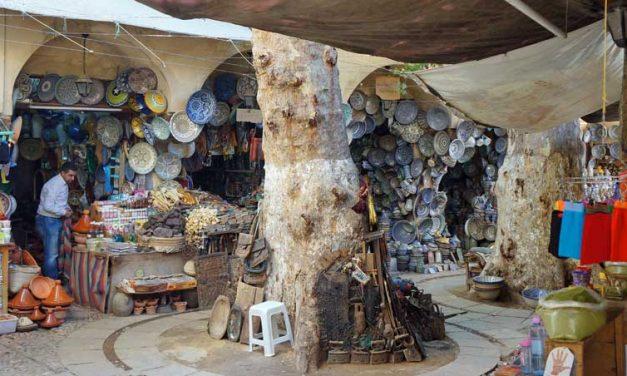 De oude hennasoek in Fez