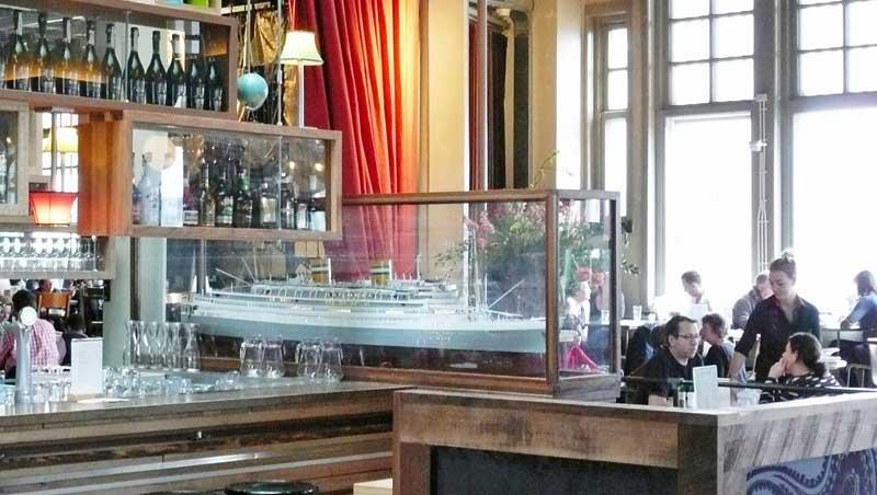 Hotel New York, het stoere baken in Rotterdam