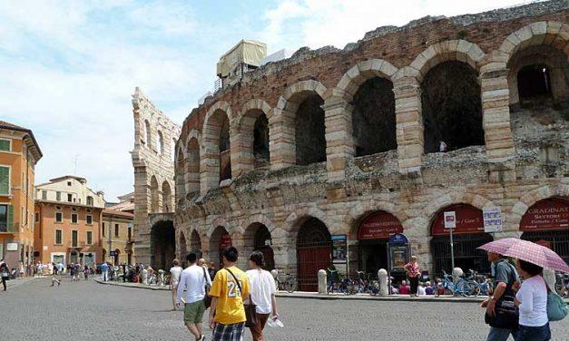 Opera in de Arena in Verona
