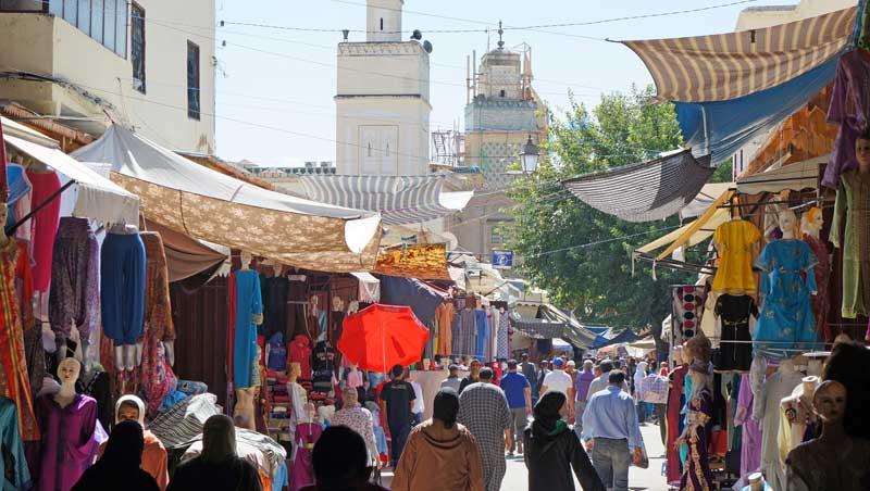 Gran de Rue de Fes el-Jedid - stadswandeling