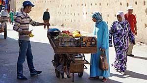 Grande Rue de Fès el-Jedid - medina Fès el-Jedid