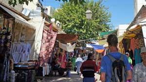 Winkeltjes en kraampjes Grande Rue de Fès el-Jedid