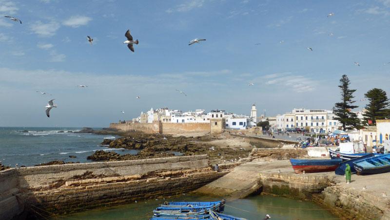 Reizen naar de Marokkaanse kustplaats Essaouira