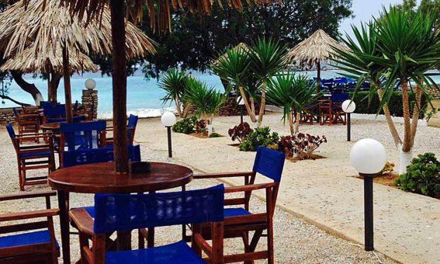 Potali Bay bij Lefkos Beach, een paradijsje op Karpathos