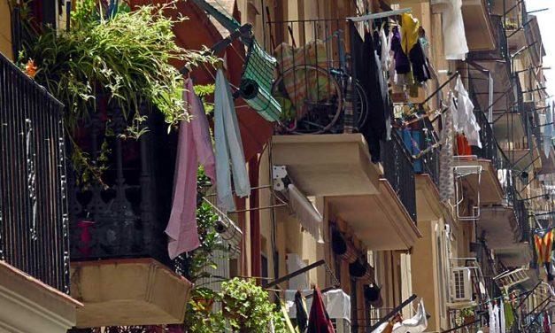 De straatjes en het strand van Barceloneta