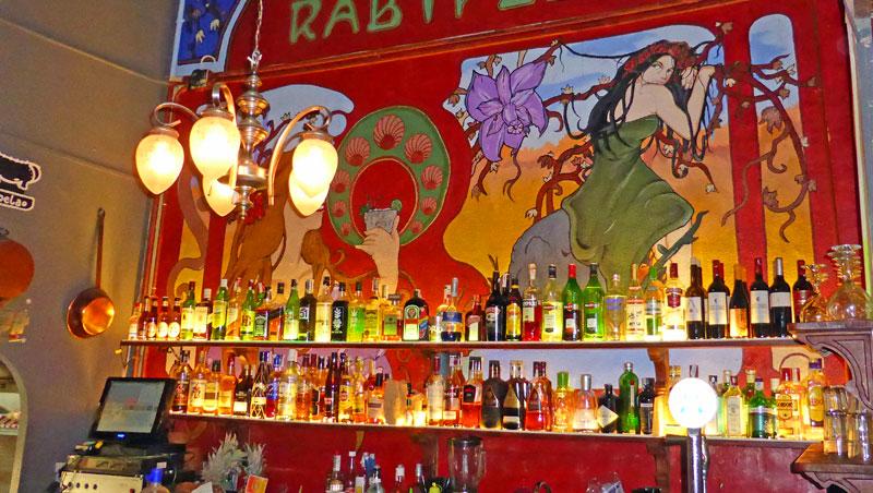 Restaurant El Rabipelao in Gràcia in Barcelona