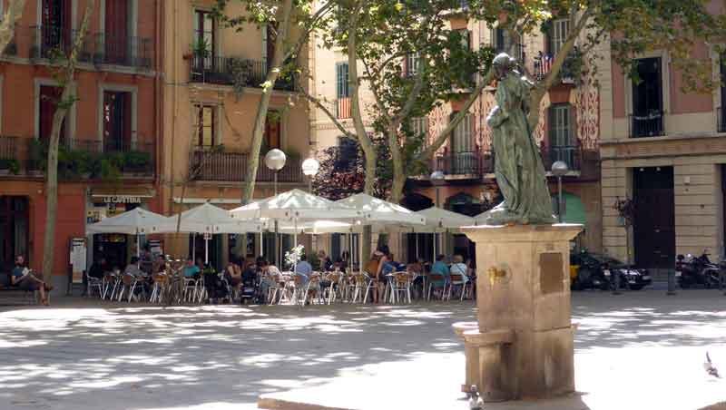 Plaça de la Virreina Gràcia