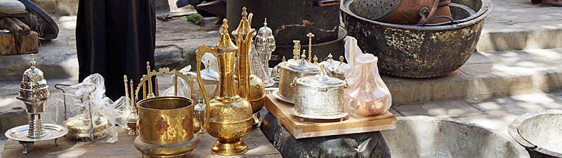 Place Seffarine potten, pannen en theekannen