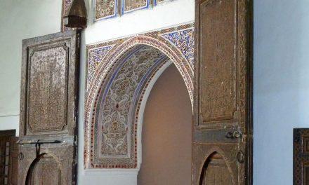 Binnenplaatsjes en fonteinen in Museum Dar Si Saïd in Marrakech