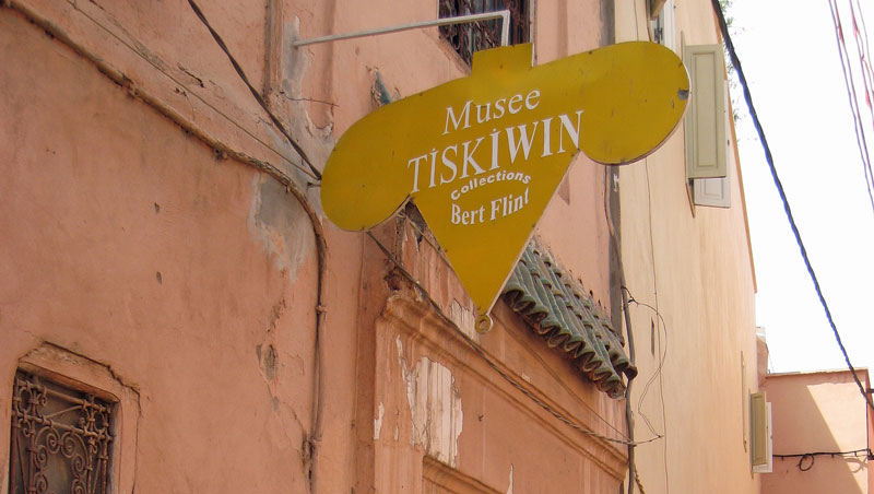 Musee Tiskiwin en een Nederlander in Marrakech