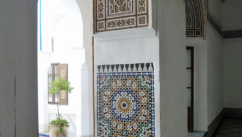 Palais de la Bahia - Marrakech