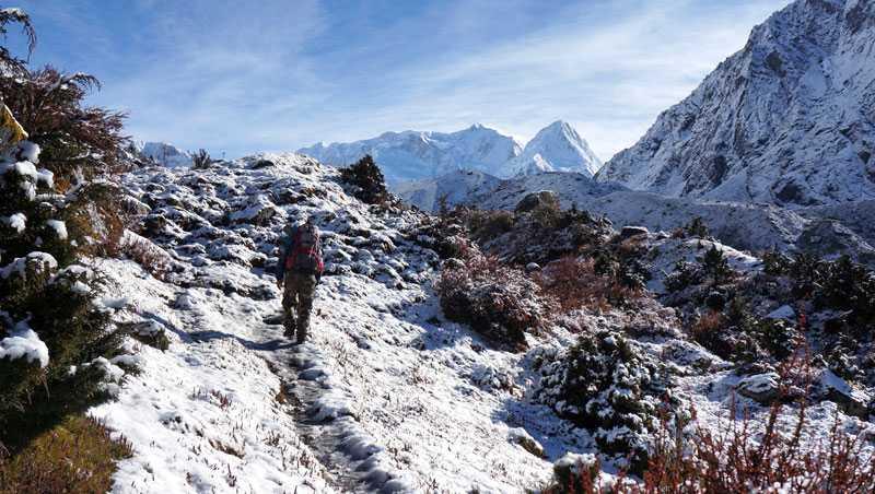 Kanchenjunga Trek Nepal, noordelijke en zuidelijke basecamp