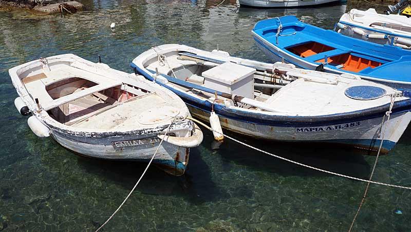Boten Piso Livaldi - Páros - Cycladen