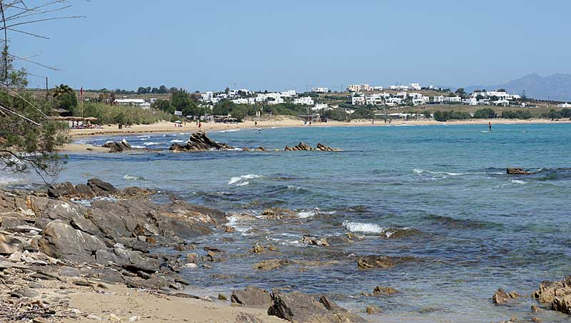 Golden Beach - Paros - Cycladen