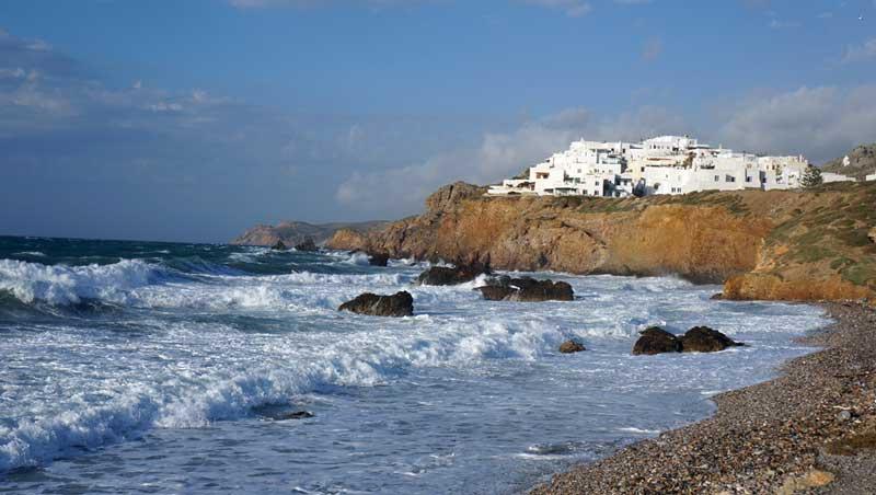 Grotta Beach - Náxos - Cycladen
