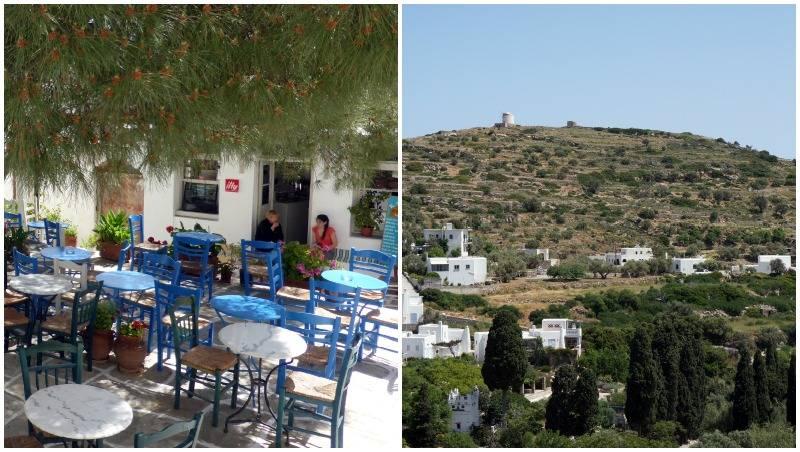 Lefkes - Páros - Cycladen