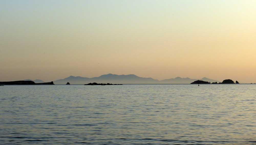 Zondsondergant Parikía - Páros - Cycladen