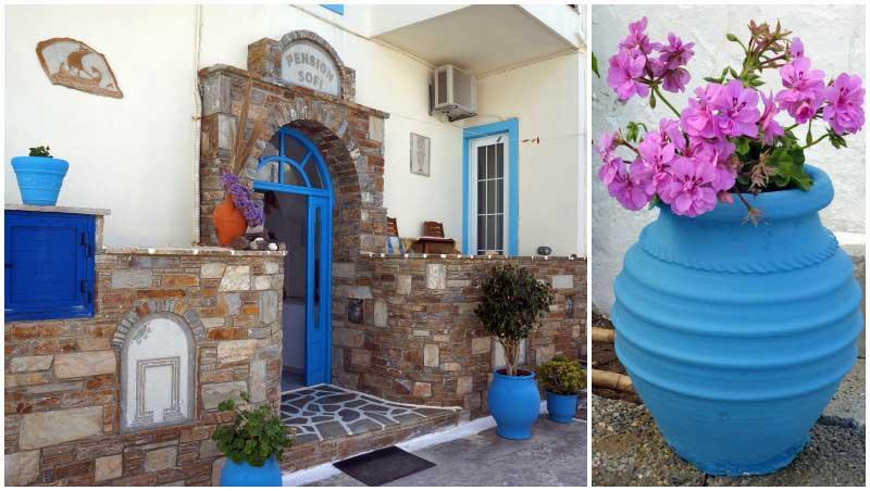 Pension Sofi ideale uitvalsbasis voor Naxos